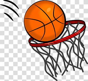 ilustrasi basket oranye, Situs Basket konten gratis, bola basket PNG clipart