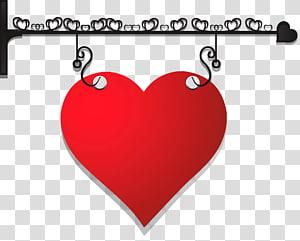ilustrasi hati merah, Hari Valentine Jantung, Gantungan Hati Hias png