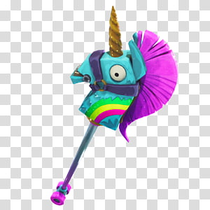 Teal, pink, dan coklat hobi unicorn, Fortnite Battle Royale Game, fortnite ragnarok PNG clipart