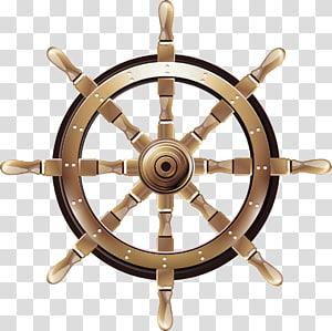 ilustrasi roda kemudi kapal, Roda kapal Boat Kemudi kemudi, bahan roda kemudi Gambar png