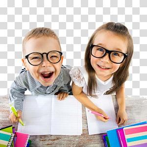 cowok dan cewek melihat ke atas sambil tersenyum, kata Warsawa East West Street Child Sight, kursus Happy kids png
