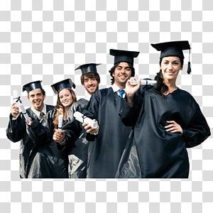 lima orang memegang ijazah, Wisuda Mahasiswa Universitas, Wisuda mahasiswa png