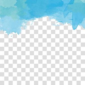 Tinta warna air png