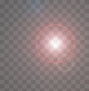 Pola Komputer Lingkaran, efek halo Sinar Matahari kreatif, sinar matahari sudut rendah png