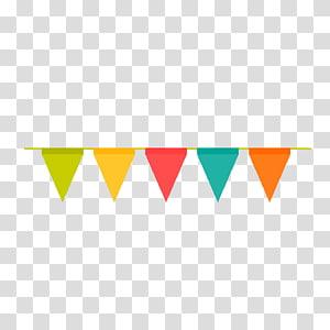 ilustrasi buntings, Adobe Illustrator, bendera perayaan pesta ulang tahun png
