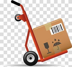 ikon layanan pengiriman, keranjang paket pengiriman bunga png