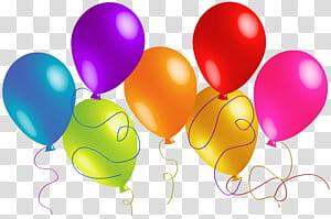 Balon, Balon Besar Berwarna-warni, ilustrasi balon aneka warna png