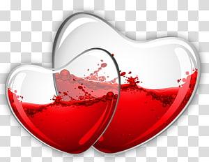 Lirik Sea Glass Hearts Of Mice & Men, Glass Hearts dengan Red Wine, merah dan jernih png
