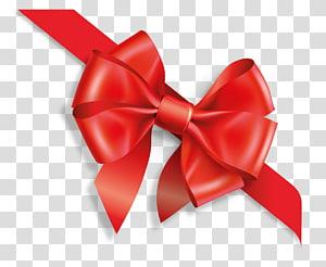 dasi kupu-kupu merah, Kartu hadiah Hadiah, pembungkus Voucher Natal, Busur png