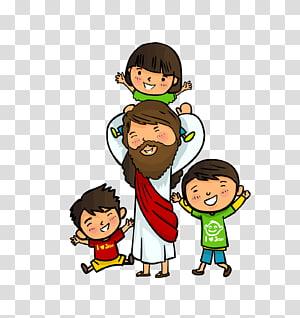 Ilustrasi Yesus Kristus, Alkitab Anak Kelahiran Yesus, anak-anak png