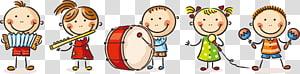 Gambar Kartun Bermain Anak, 61 Kartun anak-anak yang lucu bermain, anak-anak bermain ilustrasi instrumen PNG clipart