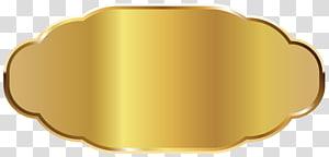 ilustrasi bingkai emas, Font Bahan Bahan Kuning, Template Label Emas PNG clipart