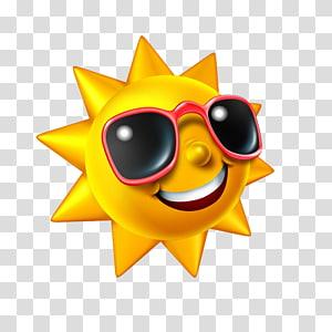 , Matahari yang sejuk PNG clipart