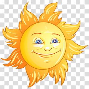 , Deco Sun, matahari kuning PNG clipart