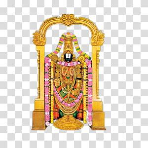 Ilustrasi patung dewa Hindu, Kuil Tirumala Venkateswara Shiva Krishna, Venkateswara File png