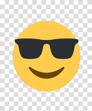 emoji keren, Emoji Go Emoticon iPhone Smiley, kacamata hitam emoji png