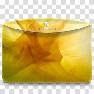 amplop kuning, kuning persegi panjang, Folder Abstrak Kuning png