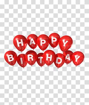 Balon Ulang Tahun, Painted Selamat Ulang Tahun, Selamat Ulang Tahun ollustration png