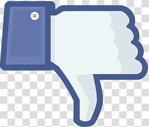 Ilustrasi tidak suka Facebook, tombol Suka di media sosial, Tidak suka Facebook png