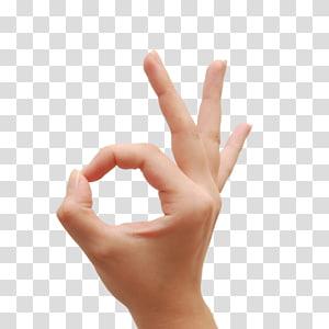 ok ibu jari tangan sinyal jempol, tangan PNG clipart