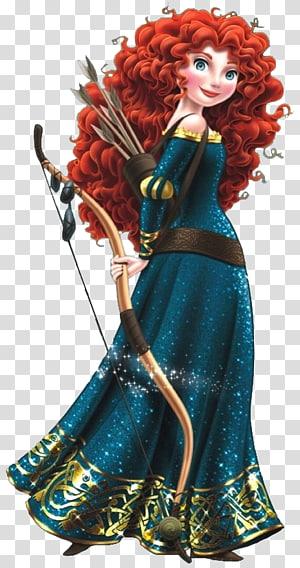 Ilustrasi Merida Berani, Merida Berani Fa Mulan Ariel Putri Aurora, Merida s png