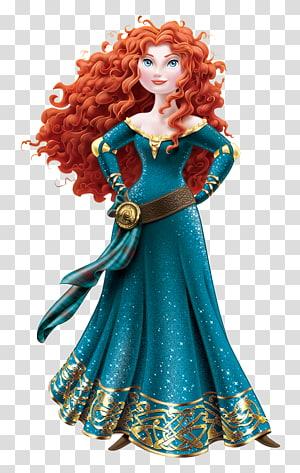 Brenda Chapman Merida Berani Putri Ariel Disney, Putri Merida, Merida Berani png