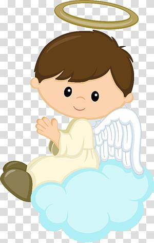 Malaikat Baptisan Bayi Anak, bayi malaikat, ilustrasi malaikat pria png