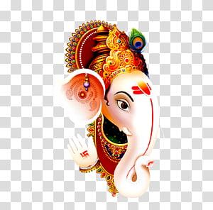 Lord Ganesha, Shiva Ganesha Parvati Desktop, Dussehra png