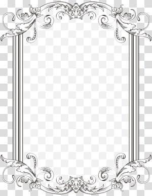 Perbatasan dan Bingkai Bingkai, Telusuri Dan Bingkai Antik, pola bunga putih persegi panjang PNG clipart