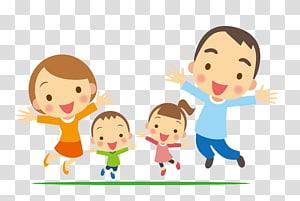 ilustrasi keluarga, program Family Child Extended day, keluarga bahagia png