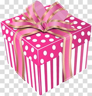 hadiah, Kotak Hadiah, Kotak Hadiah Cute Pink png