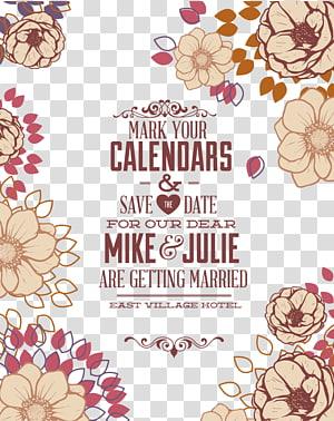 latar belakang biru dengan tandai hamparan teks kalender Anda, Undangan pernikahan, Template latar belakang undangan pernikahan png