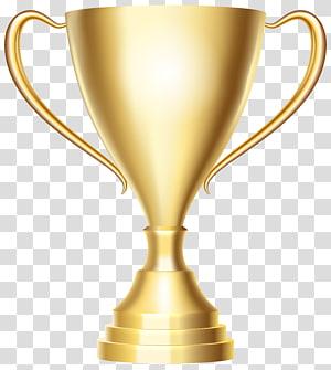 ilustrasi piala, medali Piala Emas, Piala Penghargaan Emas png