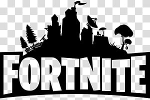 Kaos Fortnite Battle Royale Logo Xbox One, Fortnite chest, logo Fortnite hitam PNG clipart