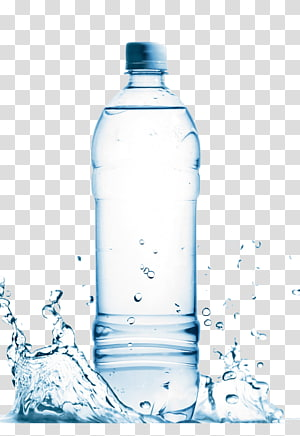 Air mineral Air kemasan, air mineral, berisi ilustrasi botol air plastik bening png