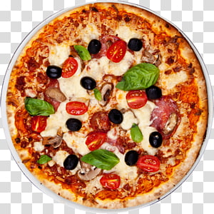 pizza dengan tomat, pizza gaya New York Masakan Italia Take-out Pizza Margherita, Pizza png