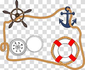 Transportasi laut Sailboat Sailor, jangkar png