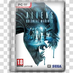 Kasus Aliens Colonia Marines, film permainan dvd pc, Aliens Colonial Marines png
