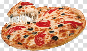 pizza pepperoni, Pizza capricciosa Masakan Italia, Pizza png