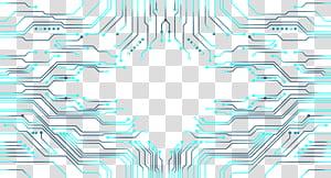 Desain grafis, pola papan sirkuit elektronik, papan sirkuit PNG clipart