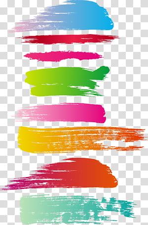 Lukisan Cat Air Kuas, Kuas Tinta, ilustrasi abstrak png