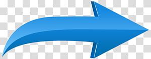 Panah, Panah Kiri Biru, panah biru yang menunjuk ilustrasi kanan PNG clipart