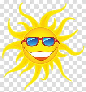 matahari memakai kacamata hitam merah,, Matahari dengan Kacamata Merah PNG clipart