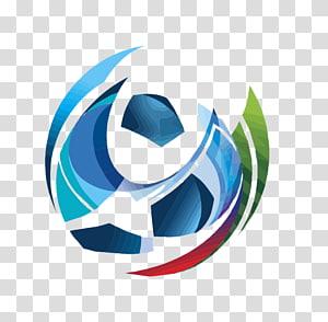logo tim bola biru dan hijau, Piala Dunia FIFA 2018, Piala Dunia FIFA 2022, Rusia Zabivaka Football, piala dunia png