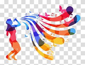 ilustrasi wanita bernyanyi, Singing Vexel, orang-orang kreatif bernyanyi png