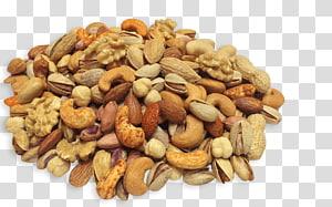 ilustrasi berbagai macam kacang-kacangan, Buah Kering Kacang Praline Makanan campuran, pistachio png