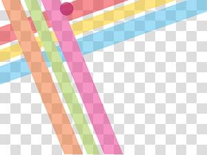 Geometry Line Abstraction Euclidean, Garis geometris abstrak berwarna-warni, merah muda, hijau, dan coklat PNG clipart