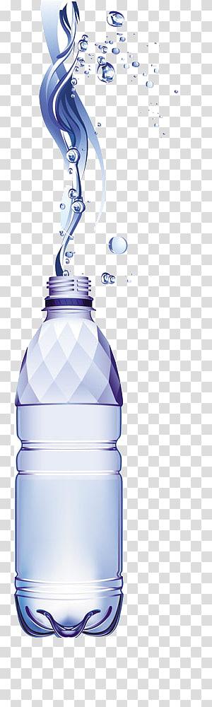 Botol air, air mineral, botol air mineral png