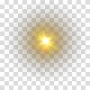 Pola Komputer Animasi, Efek cahaya, perlengkapan lampu kuning png