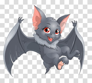 ilustrasi kelelawar, Kartun Kelelawar, Kartun Kelelawar Halloween png